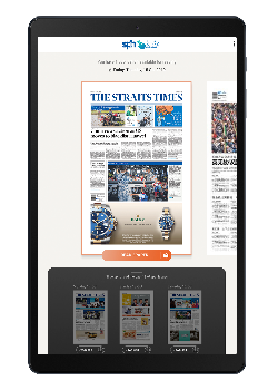 The Straits Times <br /> News Tablet